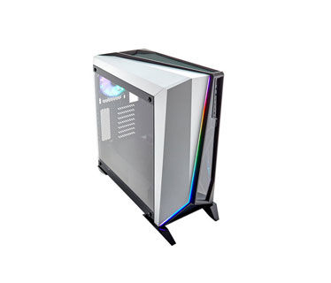 CASE CORSAIR CARBIDE SPEC OMEGA RGB GAMING, MID TOWER, BLANCO, USB 3.0 X2, AUDIO IN / OUT, 7 EXPANSION SLOT, 3X 2.5