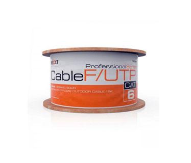 ROLLO DE CABLE F / UTP NEXXT, CAT6, 1000 PIES, PARA EXTERIOR