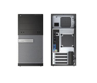 COMPUTADORA DELL REFURBISHED OPTIPLEX 3020 TOWER, I5 (4TA) 4570-4590, 3.20GHZ, 4GB DDR3, 500GB W8.1PRO