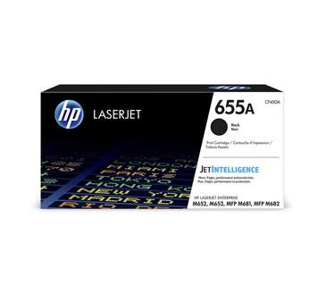 TONER HP 655A - CF450A - NEGRO - 12,500 PAGINAS - PARA IMPRESORA LASERJET COLOR ENTERPRISE M681DH - M682Z - M652DN