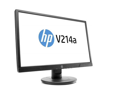 MONITOR HP V214A 20.7 PULGADAS, LED MONITOR LCD - 16: 9 - 5 MS - 1920 X 1080 - 16.7 MILLONES DE COLORES - 200 NIT - FULL HD - ALTAVOCES - HDMI - VGA - 28 W - NEGRO