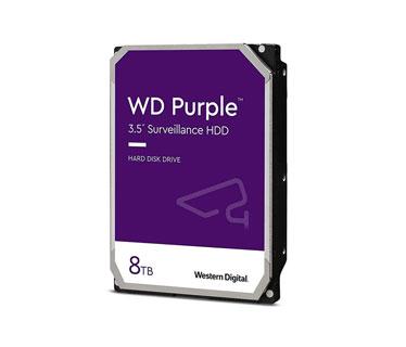 DISCO DURO 8TB P / VIDEOVIGILANCIA WESTERN DIGITAL SATA 8GB / S 3.5
