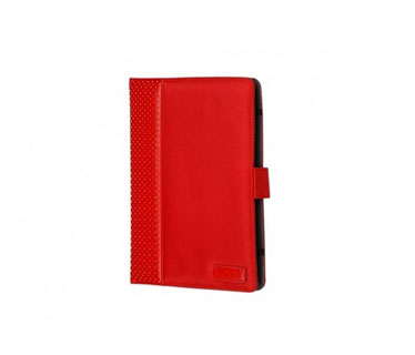 COVER PORT DESIGNS PARA TABLETA 10 PULGS., TIPO FOLIO, CON 3 POSICIONES, ROJO.