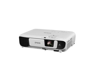 PROYECTOR EPSON POWERLITE X51+, 3800 LUMEN COLOR HDMI, 3LCD MULTIMEDIA PROJECTOR, 1024 X 768 RESOLUCION, 1 HDMI + 1 VGA + 1 USB B - USB A, WIRELESS INCLUIDO