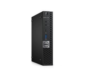 COMPUTADORA REFURBISHED DELL OPTIPLEX 7050 MSFF   INTEL CORE I3-7100T@3.40GHZ   8GB DDR4   500GB   WIN10