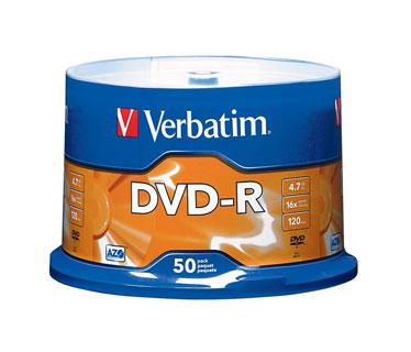 DVD-R LG 16X BRANDED SURFACE 50 PACK (LGEDG416V1S50P).