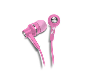 AUDIFONO KLIPX STEREO ROSADO EARPHONE IN EAR ( DENTRO DEL OIDO ).