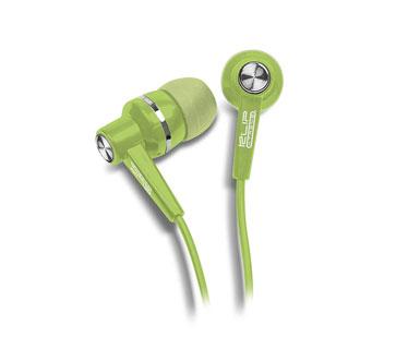 AUDIFONO KLIPX STEREO VERDE EARPHONE IN EAR (DENTRO DEL OIDO).