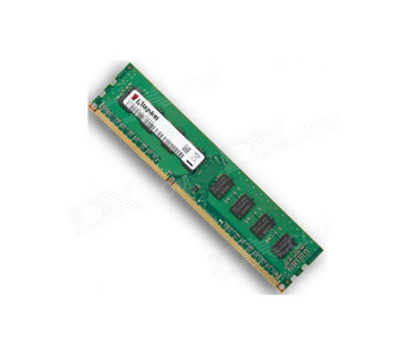 MEMORIA 2GB KINGSTON, DIMM, 1333MHZ DDR3 (PC3 - 10600) ,NON - ECC, CL9, 1.5V KVR13N9S6/2