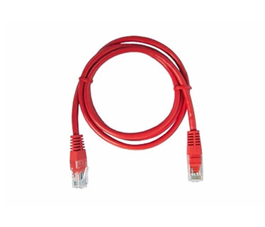 PATCH CABLE NEXXT CAT5E 25FT ROJO