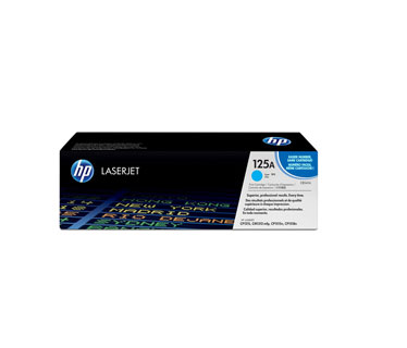 TONER HP 125A CB541A CYAN GENUINE 14K CP1215 CP1518IN CP1515N - 1400 PAGES