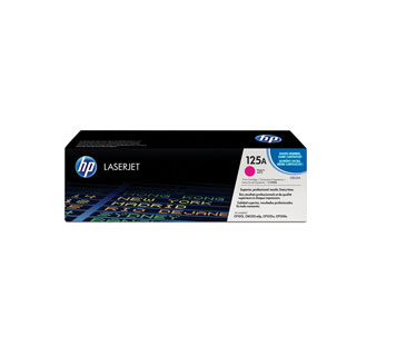 TONER HP 125A CB543A GENUINE MAGENTA 14K CP1215 CP1518IN CP1515N - 1400 PAGES
