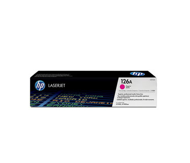 TONER HP 126A MAGENTA LASERJET PRINT CARTRIDGE (CE313A) P / CP1025NW / M175