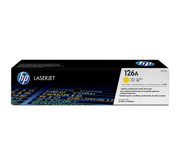 TONER HP 126A Yellow LaserJet Print Cartridge (CE312A) P / CP1025nw