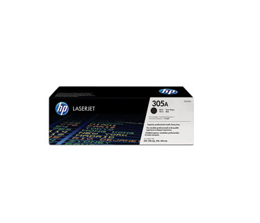 TONER HP 305A - Toner cartridge - 1 x black - 2200 pages - for LaserJet Pro 300 color M351a, 300 color MFP M375nw, 400 color M451, 400 color MFP M475