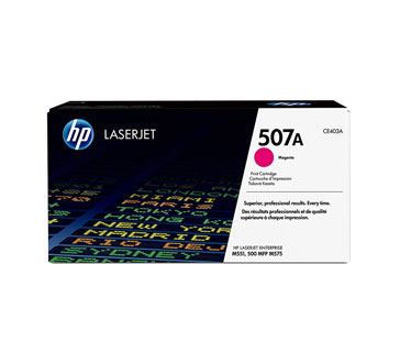 TONER HP 507A - Toner cartridge - 1 x magenta - for LaserJet Enterprise M551dn, M551n, M551xh