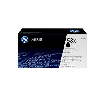 TONER HP 53X - TONER CARTRIDGE - 1 X BLACK - 7000 PAGES - FOR LASERJET M2727NF MFP, M2727NFS MFP, P2015, P2015D, P2015DN, P2015N, P2015X