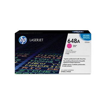 TONER HP 648A - CE263A - toner cartridge - 1 x magenta - 11000 pages for Color LaserJet Enterprise CP4025dn, CP4025n, CP4525dn, CP4525n, CP4525xh