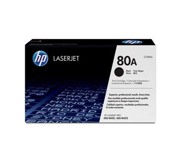 TONER HP 80A - Toner cartridge - 1 x black - 2700 pages - for LaserJet Pro 400 M401, 400 M425