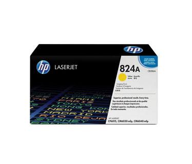 TONER HP 824A - Drum kit - 1 x yellow - 23000 pages - for Color LaserJet CL2000, CM6030, CM6040, CP6015