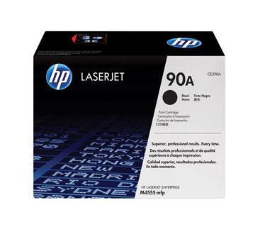 TONER HP 90A - TONER CARTRIDGE - 1 X BLACK - FOR LASERJET ENTERPRISE M4555, M601, M602, M603