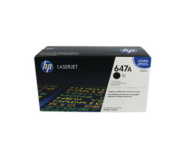 TONER HP CE260A - toner cartridge - 1 x black - 8500 pages - for Color LaserJet Enterprise CM4540, CP4025, CP4525