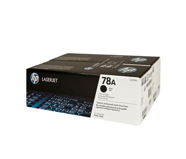 TONER HP CE278AD DOBLE LASERJET 78AD BLACK PRINT CARTRIDGE