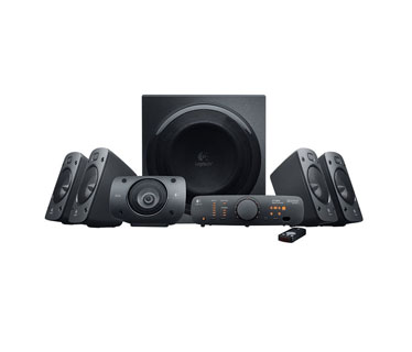 BOCINA LOGITECH Z906 5.1 CHANNEL, 500 W (RMS), WIRELESS REMOTE, NEGRAS