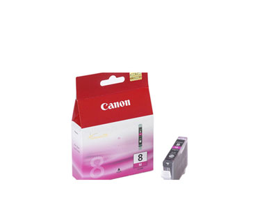 CARTUCHO CANON CLI - 8 MAGENTA COMPATIBLE CON PIXMA IP4200, IP5200, MP800.
