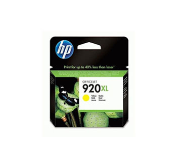 CARTUCHO HP 920XL AMARILLO HIGH CAPACITY OFFICEJET INK CARTRIDGE COMPATIBLE CON OFFICEJET 6000, 6500A Y 7500A 6ML .