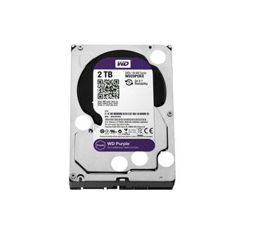 DISCO DURO 2TB P/VIDEOVIGILANCIA WESTERN DIGITAL SATA 6GB/S 3.5, 7200RPM/64MB.