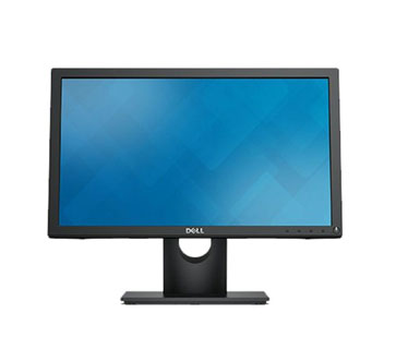 "MONITOR DELL 19"" (18.5"") E1916H, LCD/LED, 720P, 5MS, 16:9, 250CD/M², DCR 1K:1. 1 VGA + 1 DISPLAYPORT."