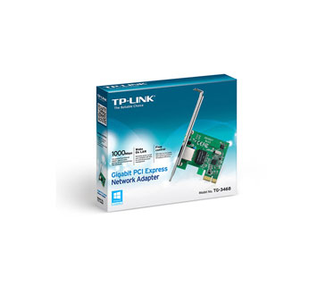 TARJETA DE RED PCI-E GIGABIT ETHERNET TP-LINK TG-3468. WAKE-ON-LAN.