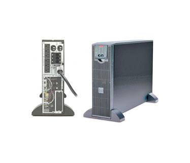 UPS APC SMART - UPS SURTA3000XL ON - LINE, 2100 WATTS / 3000 VA, INPUT 120V / OUTPUT 120V , INTERFACE PORT DB - 9 RS - 232, SMART - SLOT , EXTENDED RUNTIME MODEL , RACK HEIGHT 3 U. INPUT VOLTAGE RANGE FOR MAIN OPERATIONS 90 - 150V.