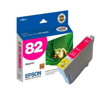 CARTUCHO EPSON MORADO 82N COMPATIBLE IMPRESORA EPSON STYLUS PHOTO T50 / TX700W / TX720WD / TX730WD ( T082320 - AL ).