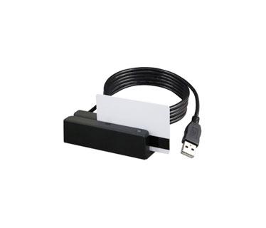 LECTOR DE BANDA MAGNETICA UNIFORM MSR213U, USB, BI - DIRECCIONAL, INDICADOR LED / BEEPER. SOPORTA DE 300 A 4000 OE.