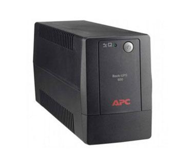 UPS APC BX600L-LM BACK-UPS, 300 WATTS / 600 VA, INPUT 89-145V / OUTPUT 120V.