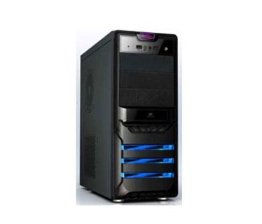 CASE AGILER P4 - ATX NEGRO PANEL 24PIN, SATA,USB X2, POWER 525W (AGI - C006B).