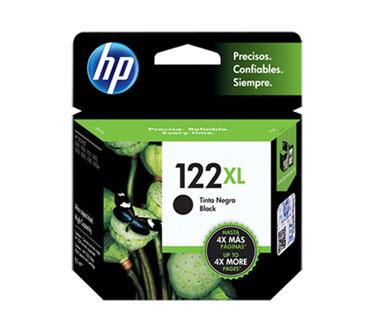 CARTUCHO HP 122XL NEGRO (CH563HL) PARA IMPRESORA HP AIO 2050, DESKJET 1000, DESKJET 2000