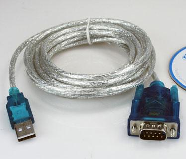 CABLE XTECH CONVERTIDOR DE USB A SERIAL DB9 10 PIES (XTC-319)