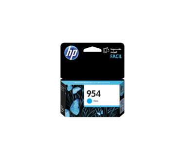 CARTUCHO HP 954 CYAN (L0S50AL) - PRINT CARTRIDGE - 1 X PIGMENTED COMPATIBLE PRODUCTS —HP OFFICEJET 7740 (G5J38A) - OFFICEJET PRO 8210 / 8710 /8720