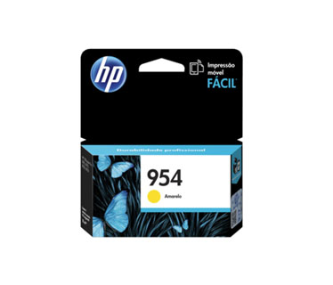 CARTUCHO HP 954 YELLOW (L0S56AL) - PRINT CARTRIDGE - 1 X PIGMENTED COMPATIBLE PRODUCTS — HP OFFICEJET 7740 (G5J38A) - OFFICEJET PRO 8210 / 8710 /8720