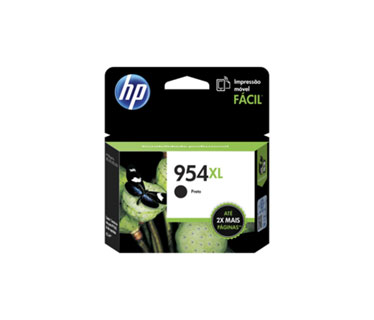 CARTUCHO HP 954XL BLACK (L0S71AL) HIGH YIELD - PRINT CARTRIDGE - 1 X PIGMENTED COMPATIBLE PRODUCTS — HP OFFICEJET 7740 (G5J38A) - OFFICEJET PRO 8210 / 8710 /8720