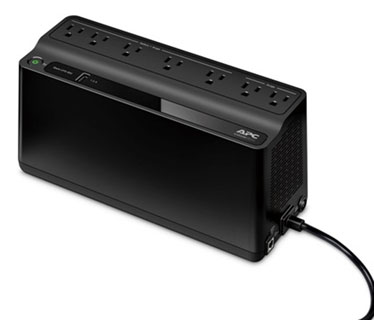 UPS APC BE600M1 BACK-UPS, 330 WATTS / 600 VA, INPUT 120V / OUTPUT 120V, 1 USB CHARGING PORT