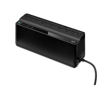 UPS APC BE850M2 BACK-UPS, 450 WATTS / 850 VA, INPUT 120V / OUTPUT 120V, 2 USB CHARGING PORTS