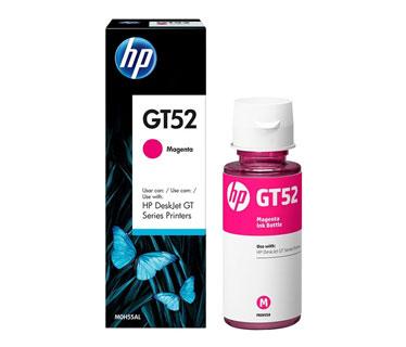 BOTELLA DE TINTA HP GT52 MAGENTA 70 ML PARA IMPRESORA GT 5810 Y 5820