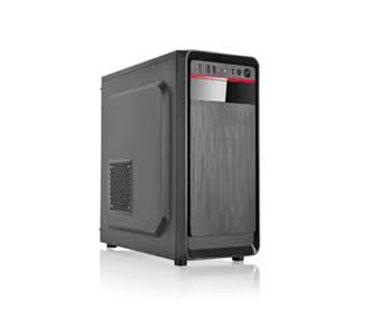 CASE AGILER ATX NEGRO PANEL 24PIN, SATA,USB X2, POWER 600W (AGI-C009)