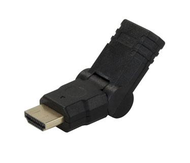 ADAPTADOR DE HDMI MACHO A HDMI HEMBRA AJUSTABLE 1080P. (XTC-347)