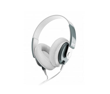 AUDIFONO HEADSET KLIPX - OBSESSION - STEREO - BLANCO - CONTROL DE VOLUMEN KHS-550WH