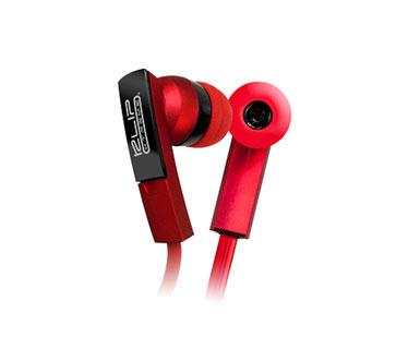 AUDIFONO KLIPX STEREO ROJO BEATBUDS IN EAR (DENTRO DEL OIDO) (KHS-220)